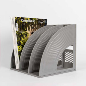 Magazine & Book Rack
